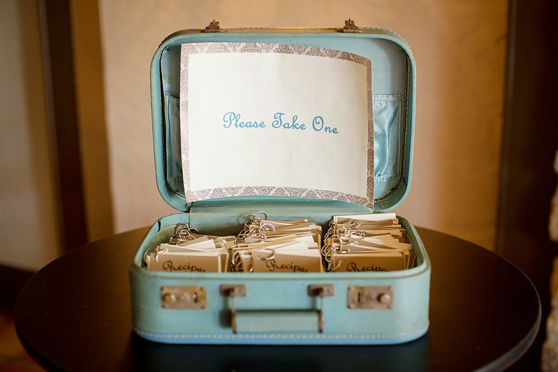 Check Out These Mini Recipe Book Wedding Favors Offbeat