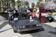 automobile, vehicle, delorean dmc-12, antique car, vintage car, land vehicle, sports car, motor vehicle,