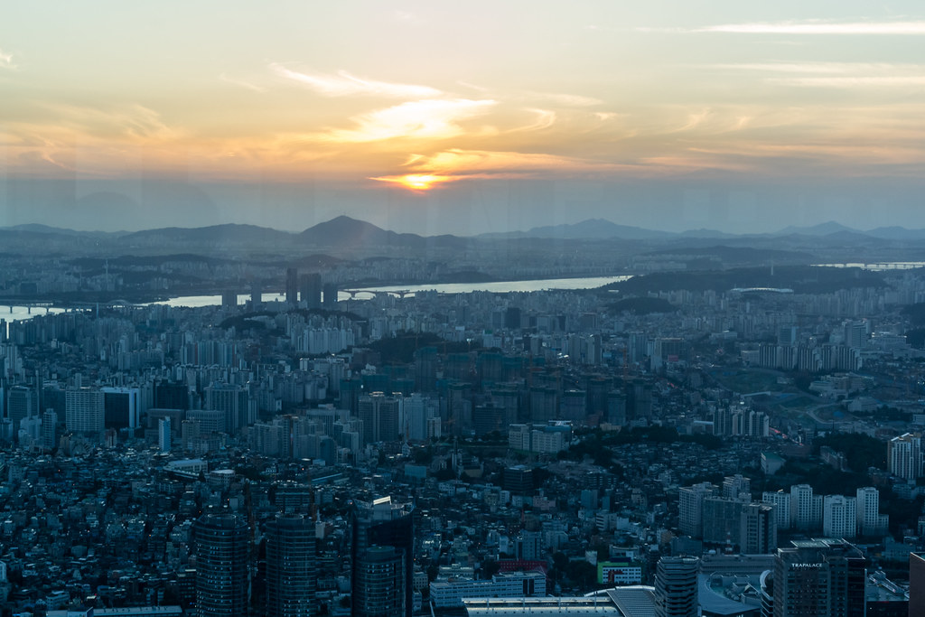 N Seoul Tower, Namsan, Seoul, South Korea