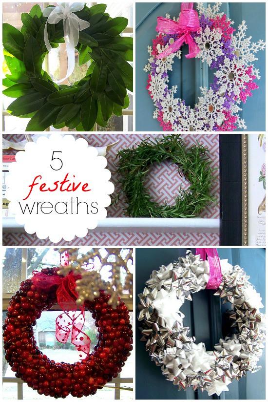 Hi Sugarplum | Festive DIY Wreaths