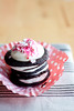 peppermint icebox cupcakes