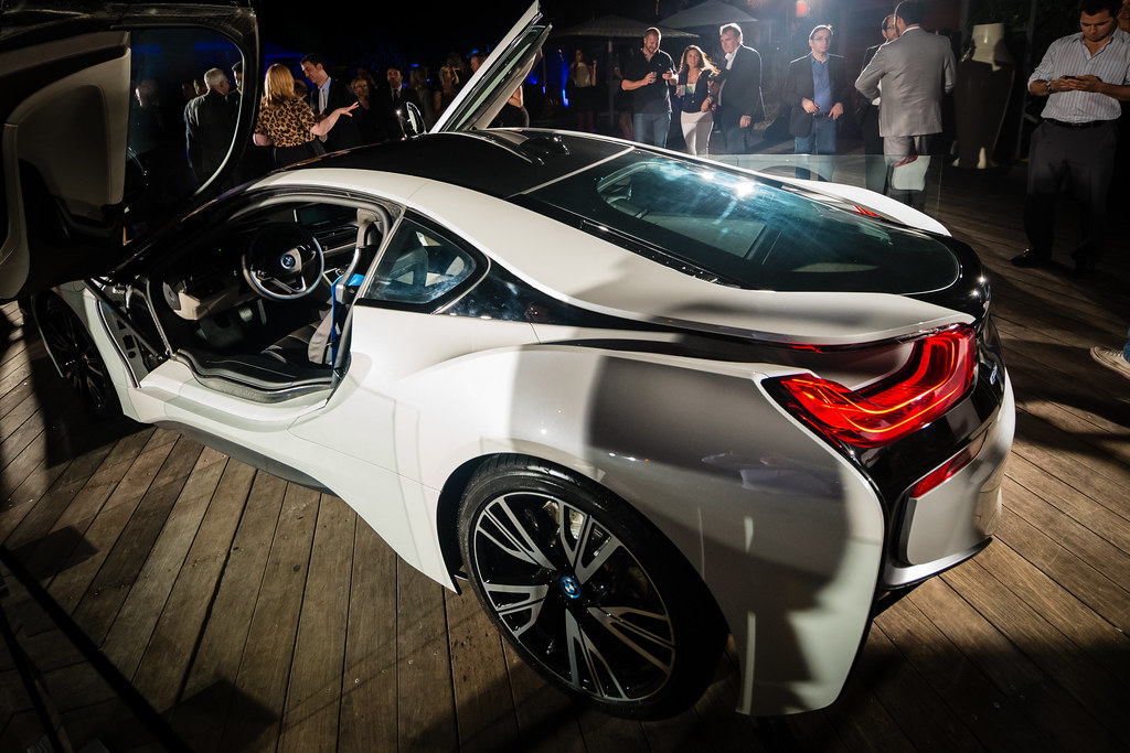 Bmw I8 Event At Sls Hotel In Miami