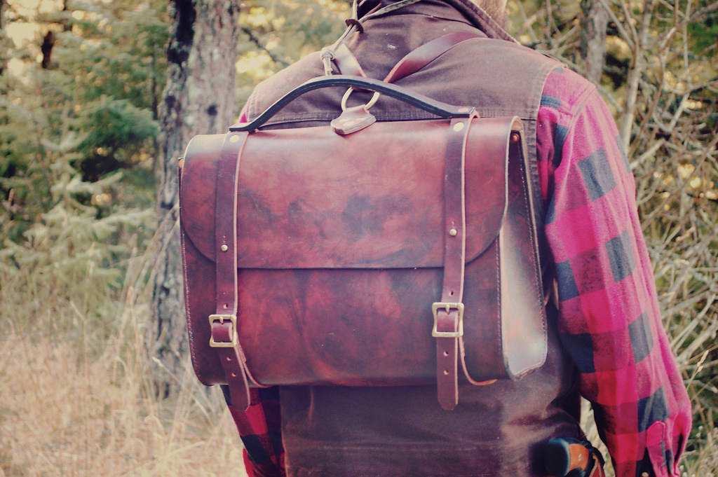 Waylander Satchel from Craft and Lore