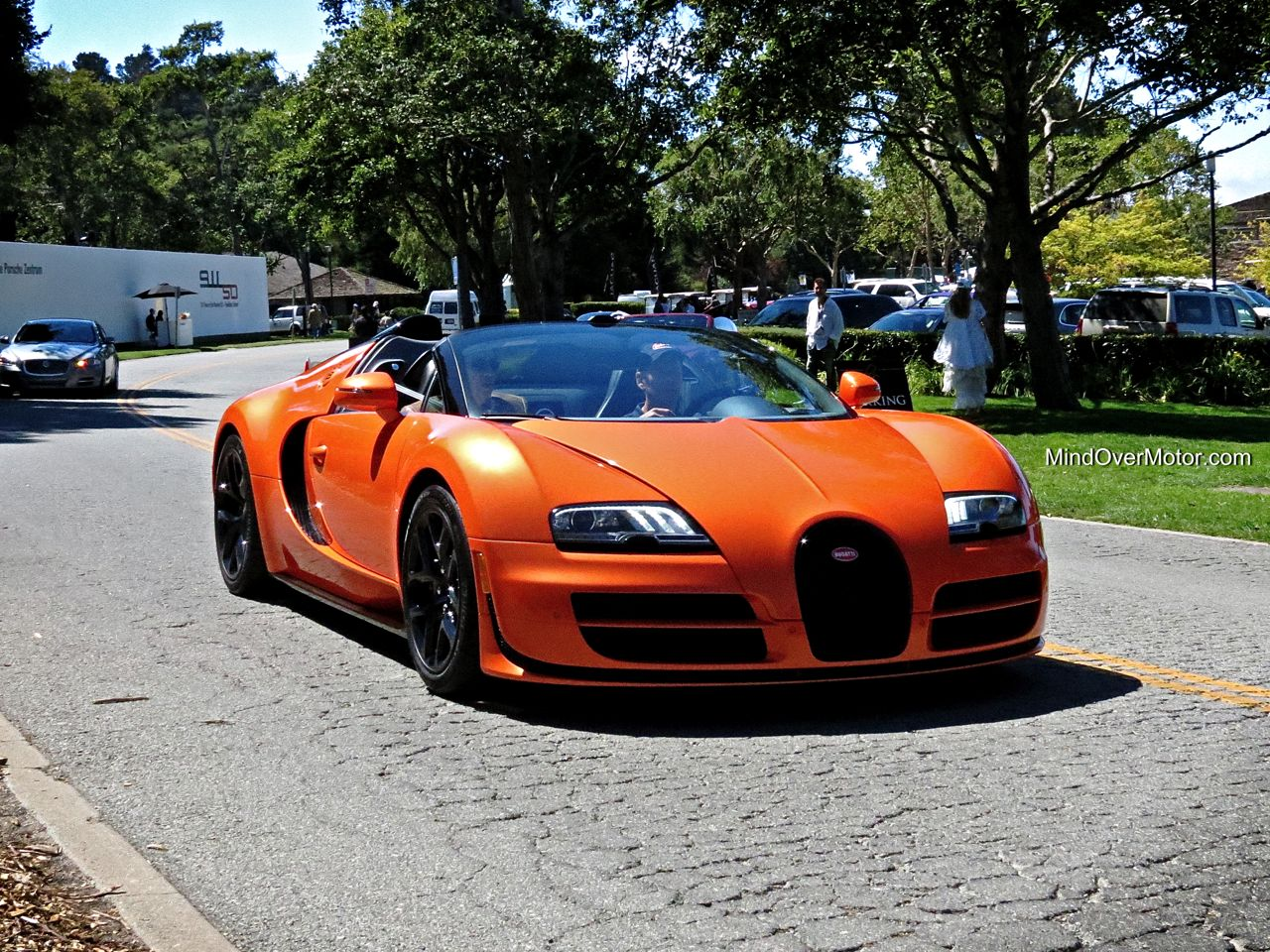Bugatti Veyron Gran Sport Vitesse at The Quail Lodge