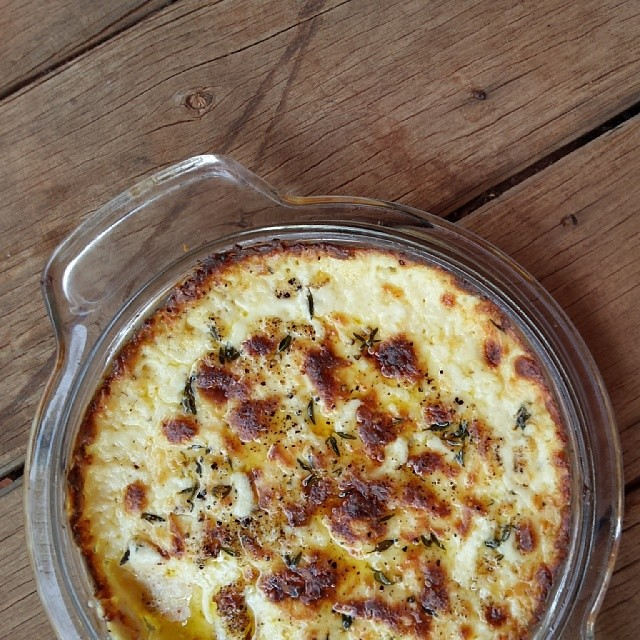 This is seriously DELICIOUS!!!  Baked cheese dip --- want the recipe?