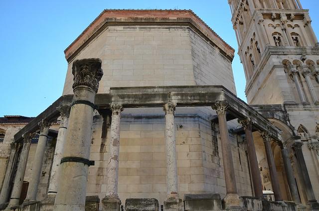 Diocletian's mausoleum, Diocletian's Palace, Split