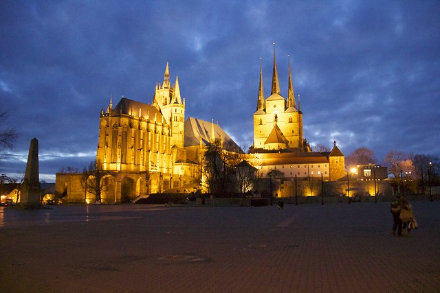 Erfurt Domplatz