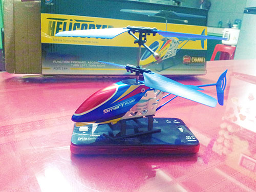 I love my RC helicopter