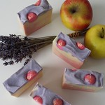 Lavender Apple Cocoa Butter Soap