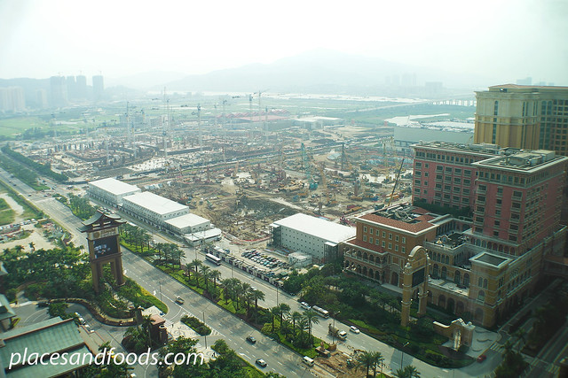 cotai strip construction