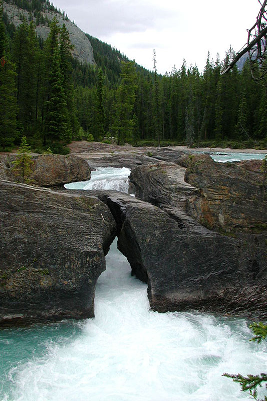 Kicking Horse River Valley, Field, Yoho National Park, BC Rockies, British Columbia, Canada