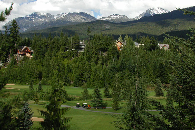Whistler Golf Club, Whistler, Whistler Valley, Sea to Sky, British Columbia, Canada