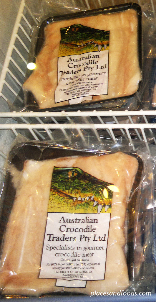 melbourne crocodile meat