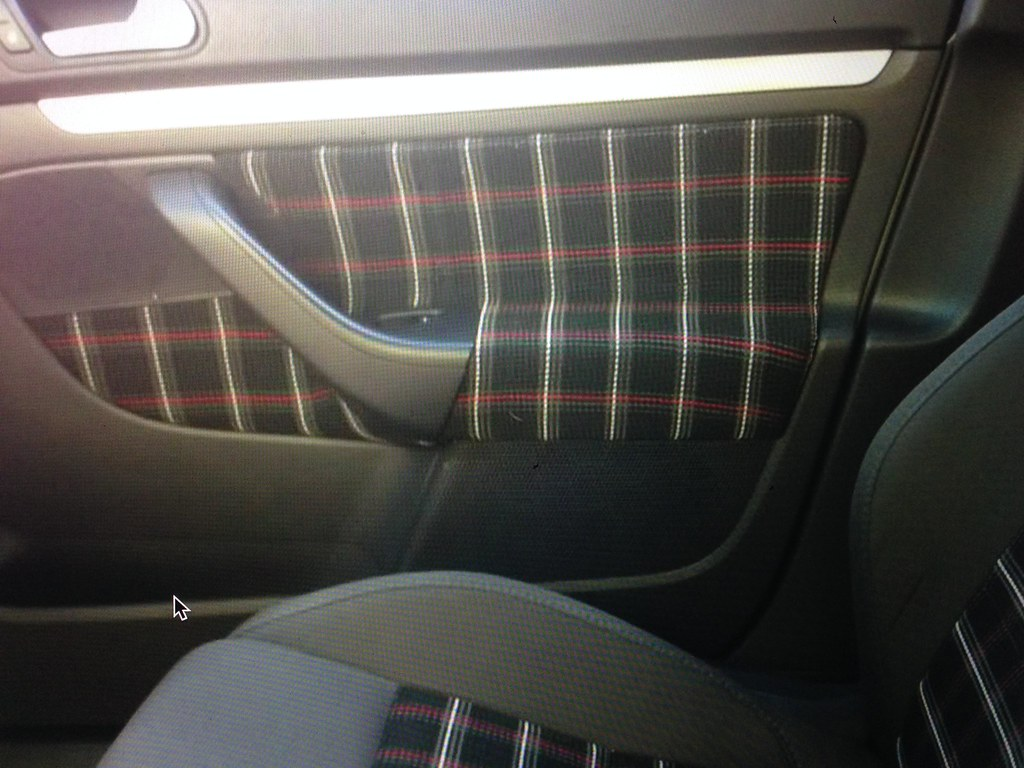 Interlagos wrapped door cards - VW GTI MKVI Forum / VW Golf