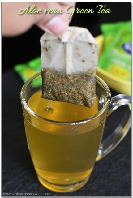 Tetley Aloe Vera Green Tea