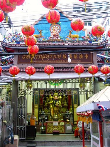 Templo en Chinatown