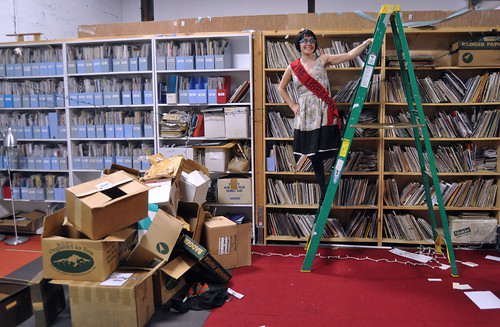 The Glamorous Life of a Zine Librarian [59/365]