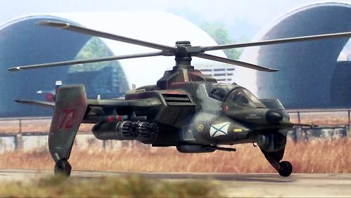 "1:72 Russian Helicopters/Mil Mi-62K (NATO ""Hepcat B""), aircraft ""72 Red/RA-31098"" of 125th OVP, Naval Aviation of the Baltic Fleet of Russia; Chkalovsk AB, 2015 (Whif/Kotobukiya kit conversion)"