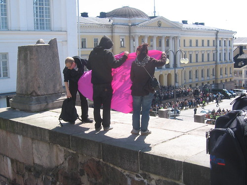 Muurinmurtajat lippujuhlissa 04.06.2012