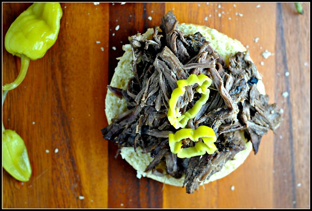 Crock Pot Tangy Italian Beef Sandwiches 2