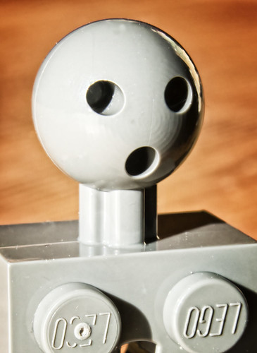 Shocked LEGO Ball Joint Face