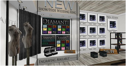 :Diamante: Celtic Wedding Rings in Mainstore Now!!! by Alliana Petunia