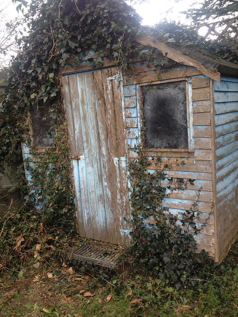 Shed Exterior post Cleanup