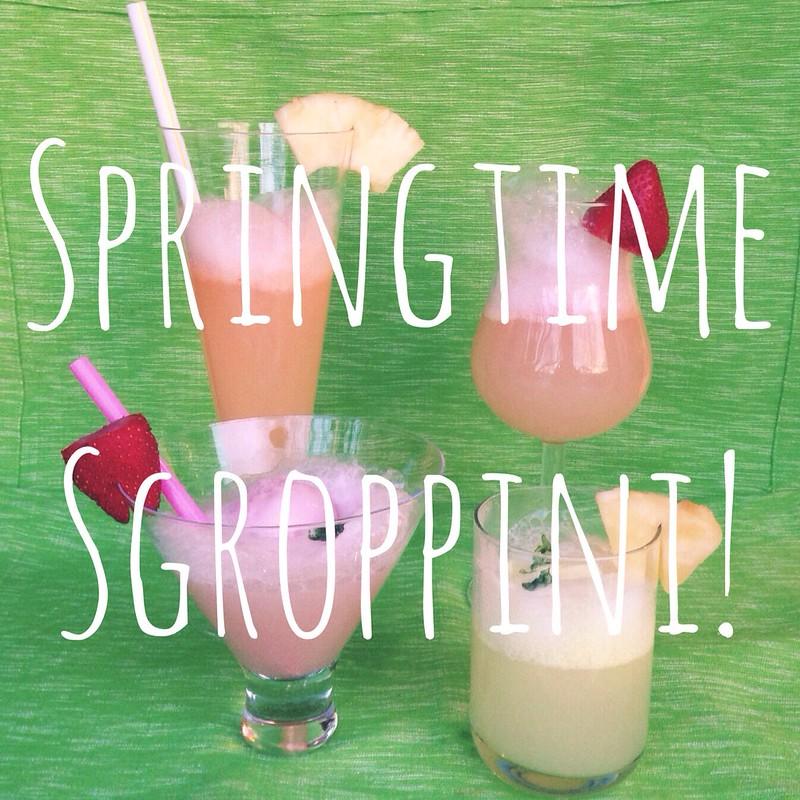 Springtime Sgroppini! • A Sgroppino Recipe.
