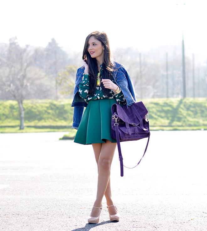 Neo Green Skirt_01