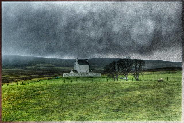 Haus in den schottischen Highlands - House in the Scottish Highlands