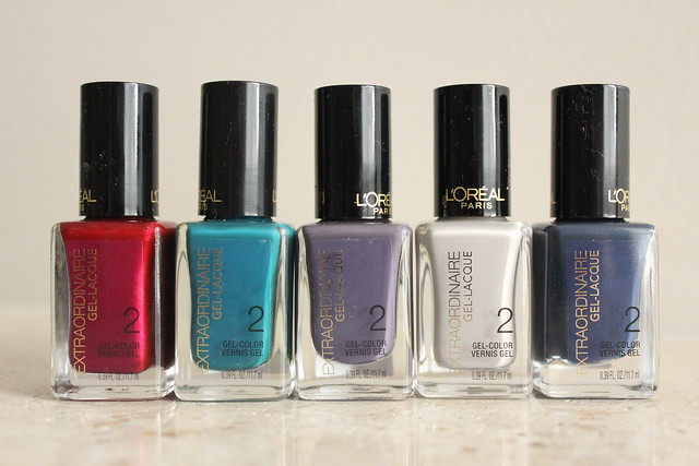 L'Oreal Paris Extraordinaire Gel Lacquer swatch and review