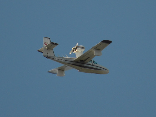 Lake N8003H In Flight