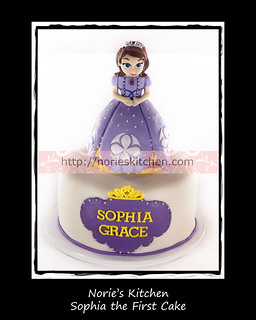 Norie's Kitchen - Sofia the First Cake