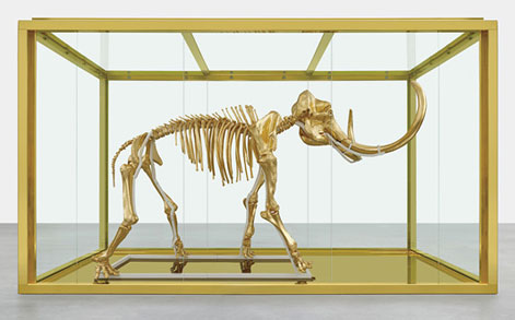 _Damien-Hirst-Gilded-Woolly-Mammoth-Skeleton-