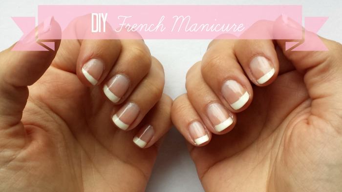 DIY French Manicure Tutorial