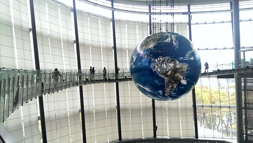 Geo-Cosmos - Miraikan (National Museum of Emerging Science and Innovation) - Tokyo