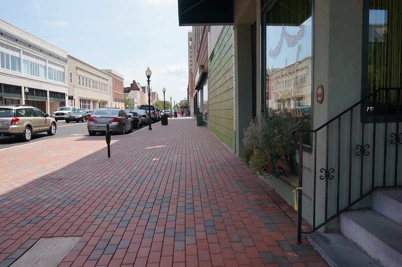 East Main streetscaping