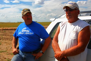 Dad and Farmer Clint.