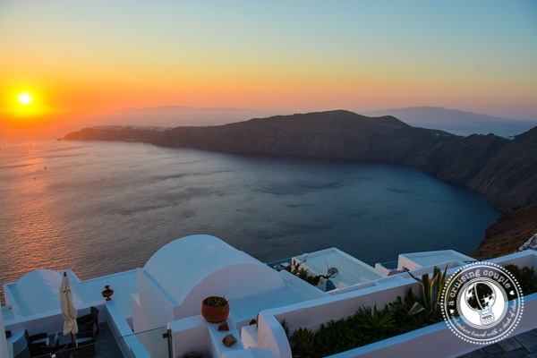 Santorini Sunset Greece