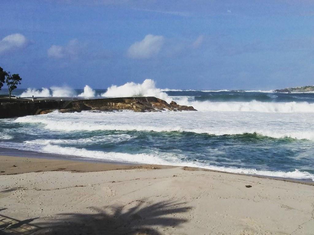 Waves... !!! #riazor #Coruña #olas