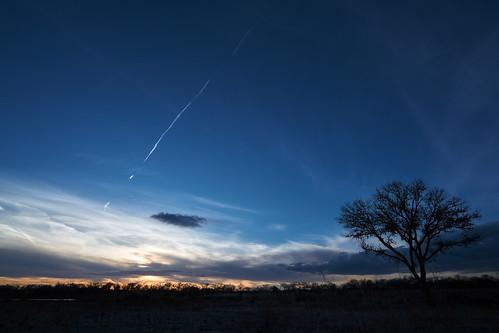 sky newmexico albuquerque sunset cloud riogrande