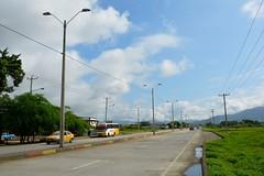 Obra de iluminación del paso lateral Chone no está entregado a la Corporación Nacional de Electricidad