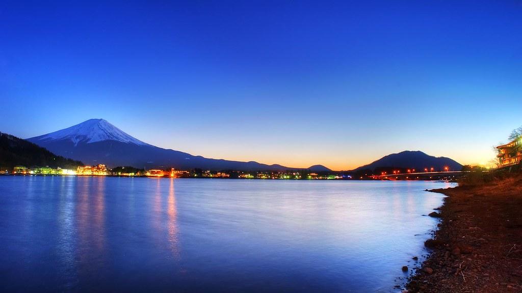 富士山_河口湖