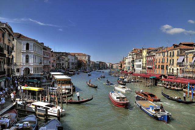 Italia. Venecia. Gran canal. Explore 30 de mayo de 2013