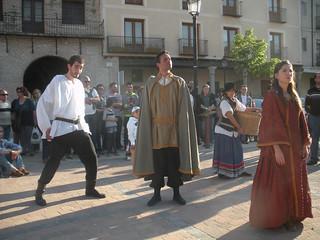 Visitas teatralizadas a Arévalo.