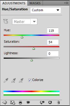 Замена цвета глаз в Фотошоп
