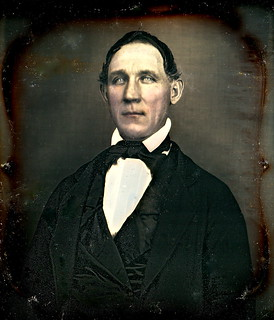 Ol' Blue Eyes, 1/6th-Plate Daguerreotype, Circa 1850