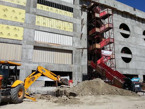Avances construcción Estadio Caliente junio 2013