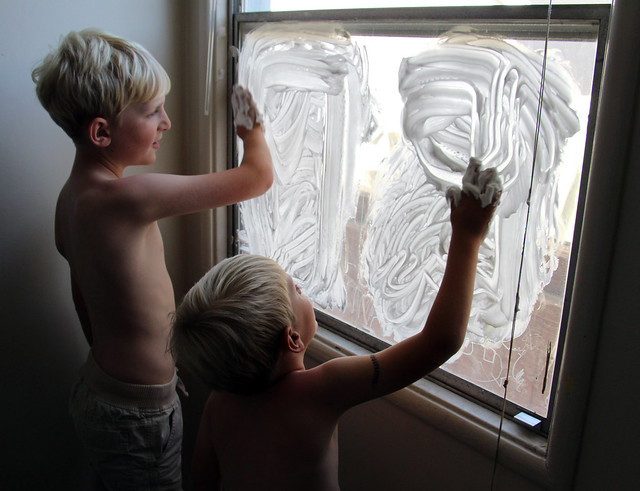 Shaving Cream Windows