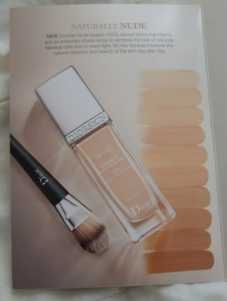 nude foundation reviews Diorskin